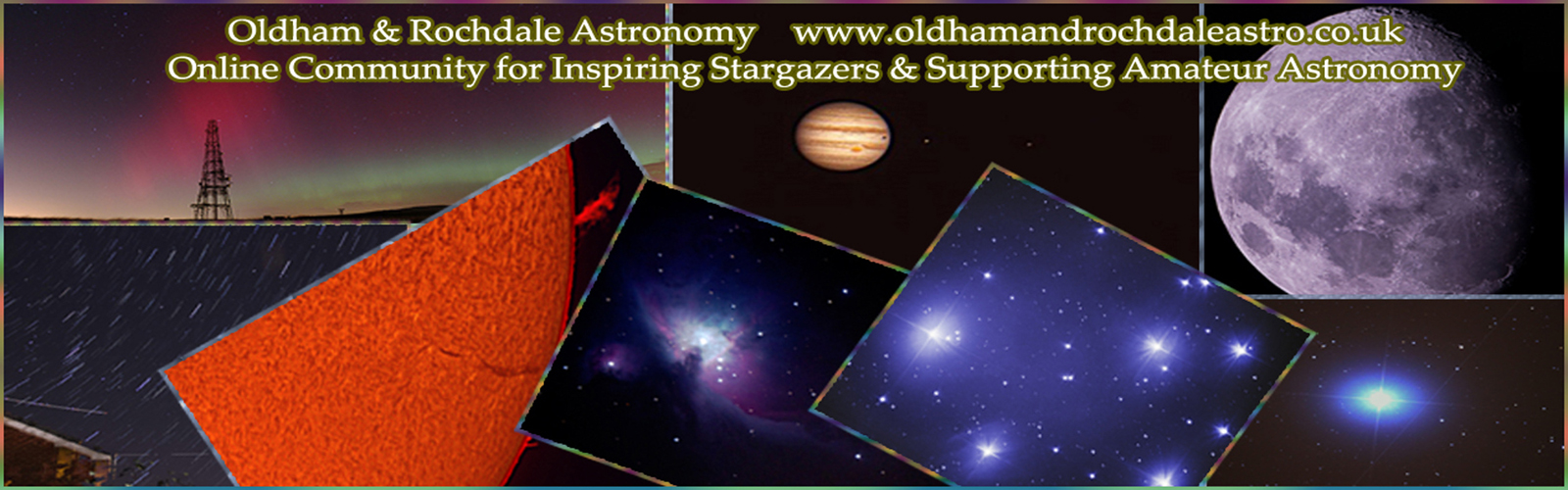 Banner Oldham and Rochdale Astronomy