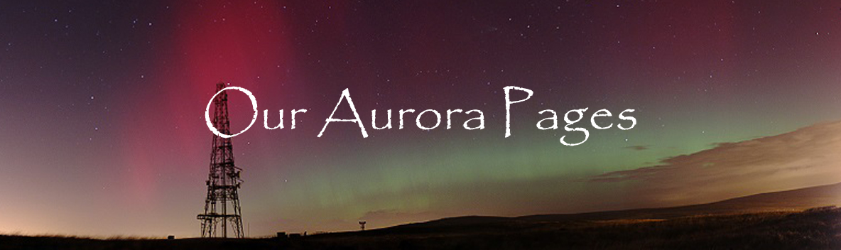 Our Aurora Pages (image by Sarah Hall & Colin Campbell)